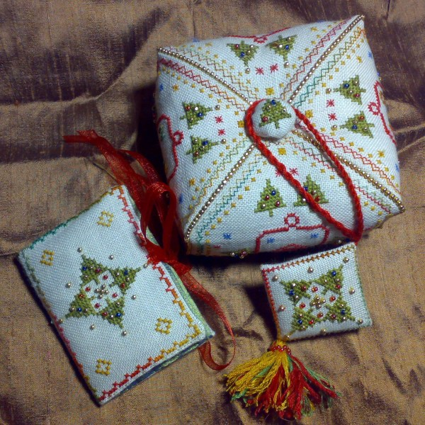 Treasure Christmas Sewing Set